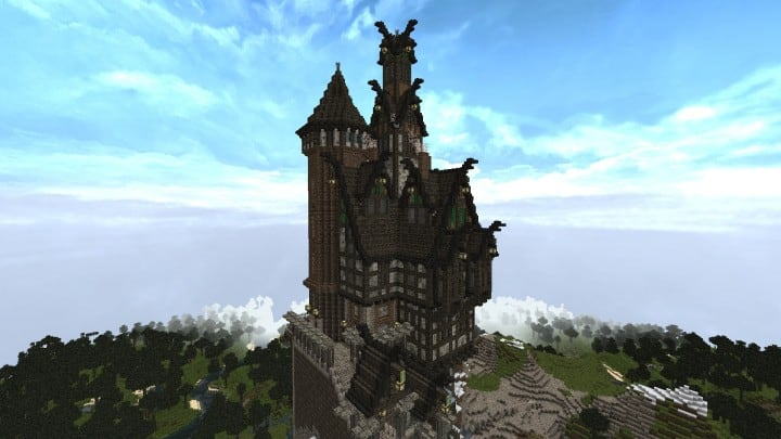 Viking Castle  Minecraft Building Inc