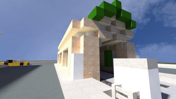 BP Gas Station Minecraft Building Inc