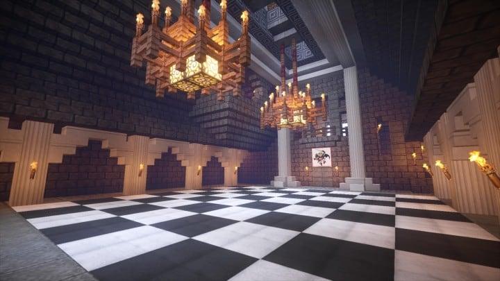 Castle Karazhan Minecraft Building Inc