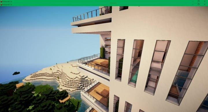 Modern Apartments 2  Minecraft Building Inc