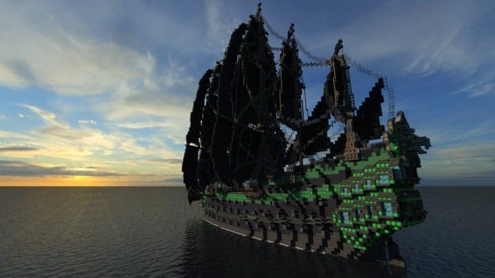 Pirate Galleon Full Interior Minecraft Building Inc