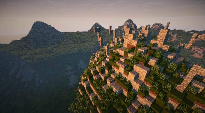 Bree Settlement Of Men LOTR Minecraft Building Inc