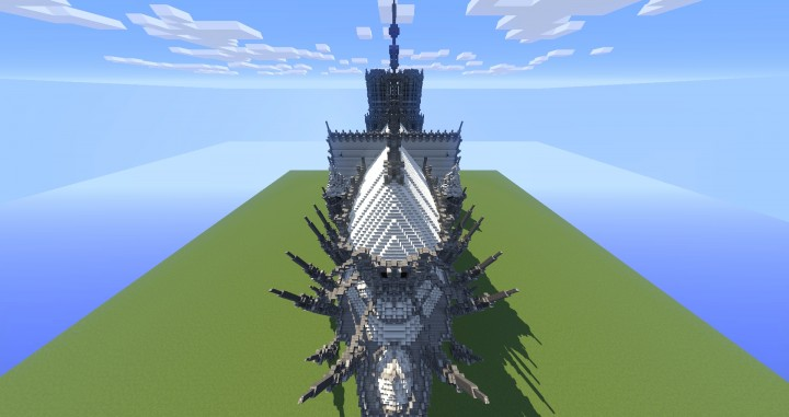 Erisia Cathedral A Gothic Cathedral Minecraft Building Inc