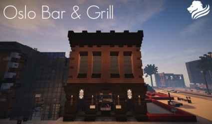 Oslo Bar & Grill Wok Minecraft Building Inc