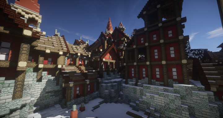 Days Of Creations The Bridge City Of Non Anor Star Wars Minecraft Building Inc