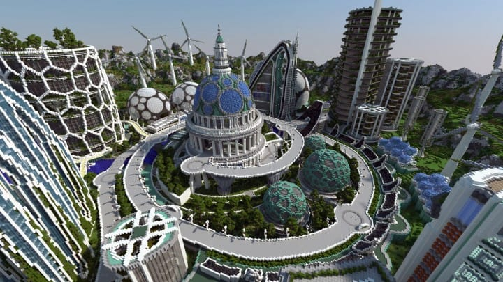 Climate Hope City – Minecraft Building Inc