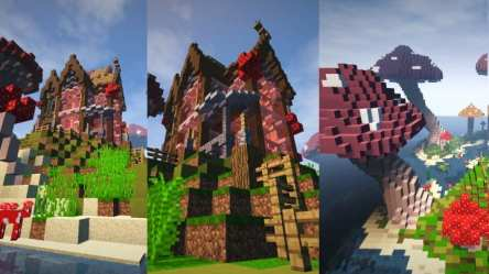 The Mushroom Mansion Minecraft Building Inc