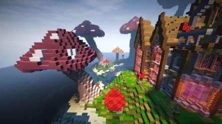 Minecraft Small Villa Drone Fest