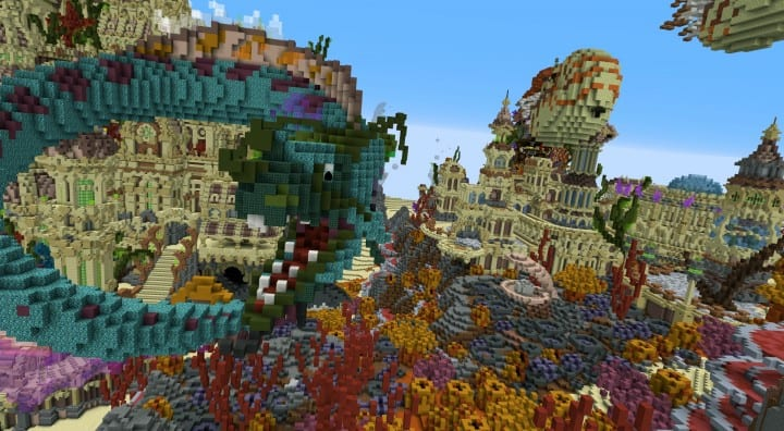 Echoes From The Deep Minecraft Building Inc