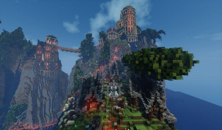 Elvish Outpost  Arien Helyanw  Minecraft Building Inc