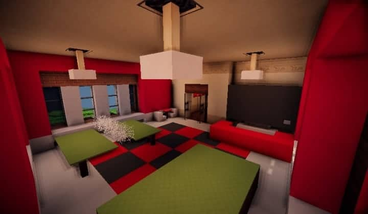 best floor for kitchen reclaimed wood cabinets tudor mansion – minecraft building inc