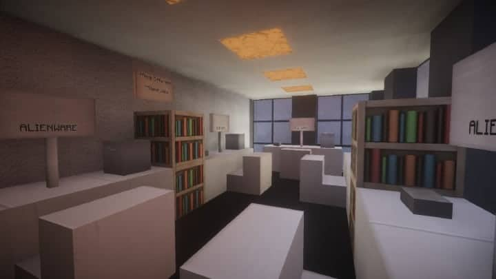 A Small Modern Office Building Minecraft Building Inc