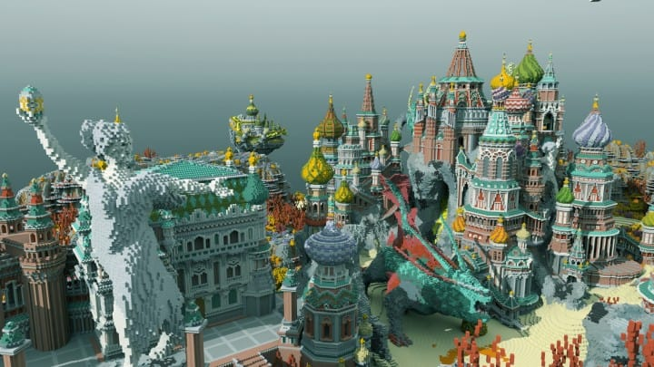 Faberzhe Palace Minecraft Building Inc