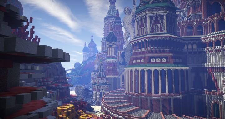 Faberzhe Palace  Minecraft Building Inc