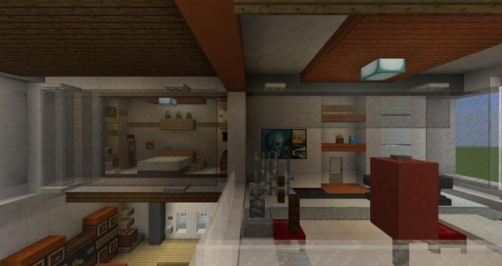 City Vibe  Retro Modern Penthouse  Minecraft Building Inc