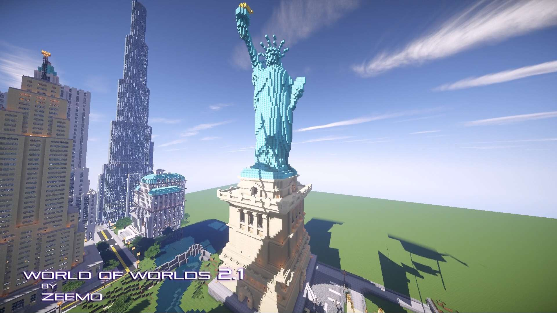 World of Worlds  Minecraft Building Inc