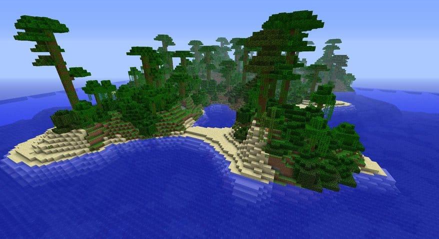 Amazing Minecraft Seeds 1 7 2