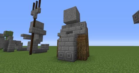 minecraft statues easy build building buildings temple designs cool worlds castle minecraftbuildinginc tutorial survival kneeling discover