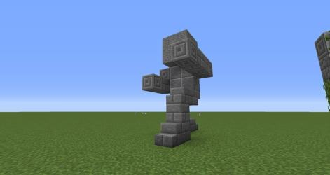 statues easy minecraft build statue buildings minecraftbuildinginc worlds building 保存