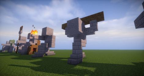 statues easy minecraft build statue building