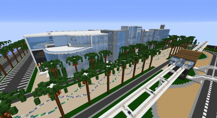Alleron Convention Center Alleron City Minecraft