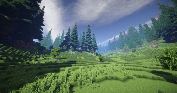 Hiraen 2k x 2k Terrain  Minecraft Building Inc