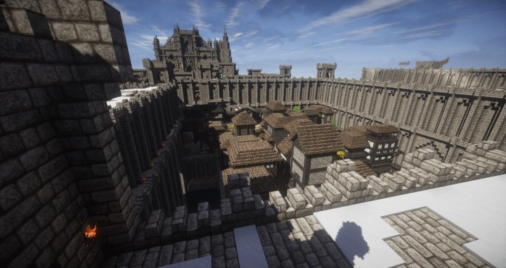 Medieval Stronghold Complex Minecraft Building Inc
