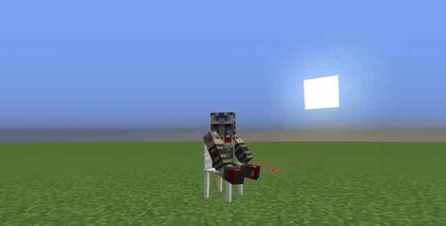 How To Make A Working Chair You Can Sit On - Minecraft Building Inc