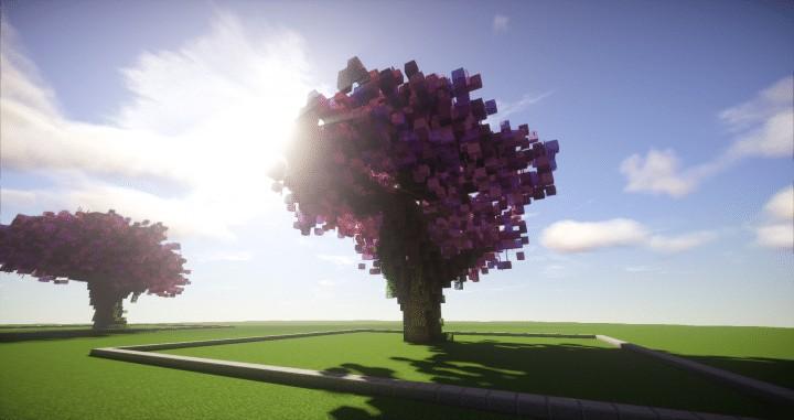 Cherry Trees Bundle  Minecraft Building Inc