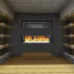 How To Make Living Room Furniture In Minecraft Modern Rocking Chair 9 Fireplace Ideas – Building Inc