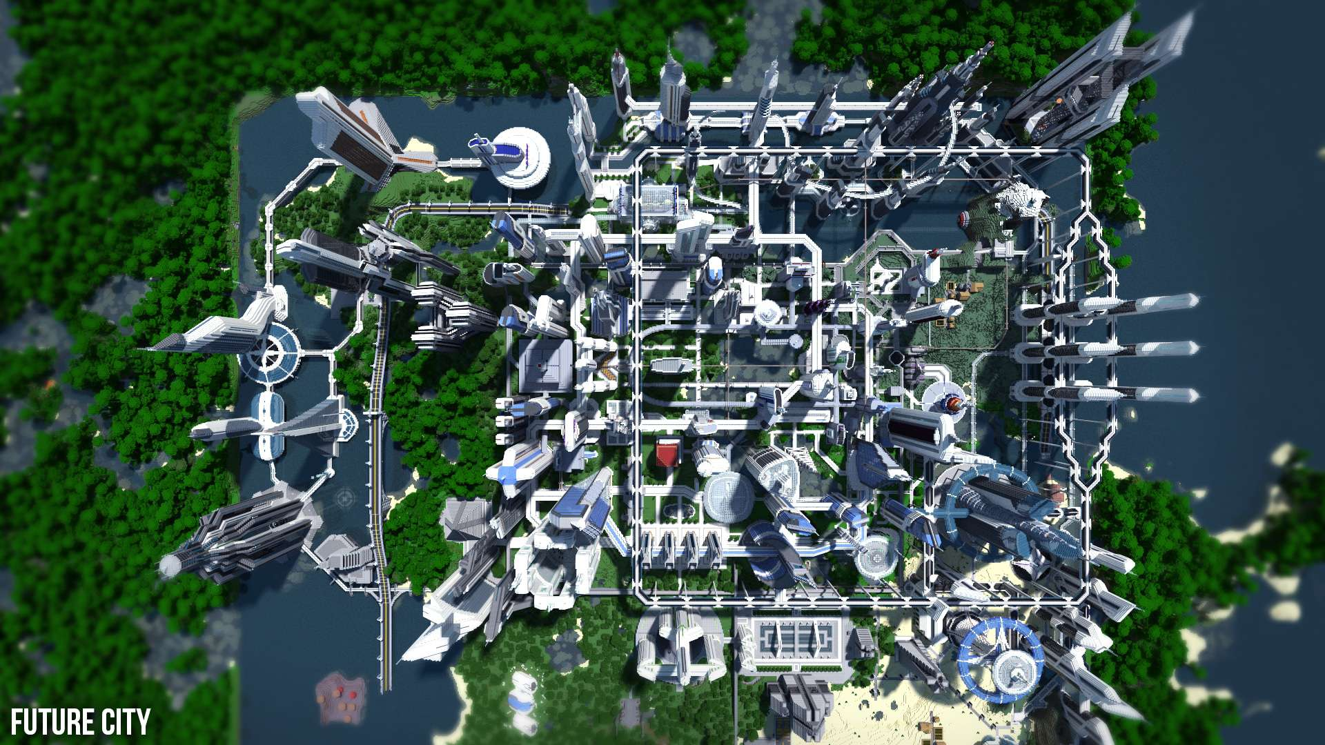 Future CITY 34  Minecraft Building Inc