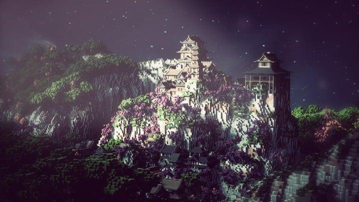Project Kuni No Tori A Japanese Citadel Minecraft