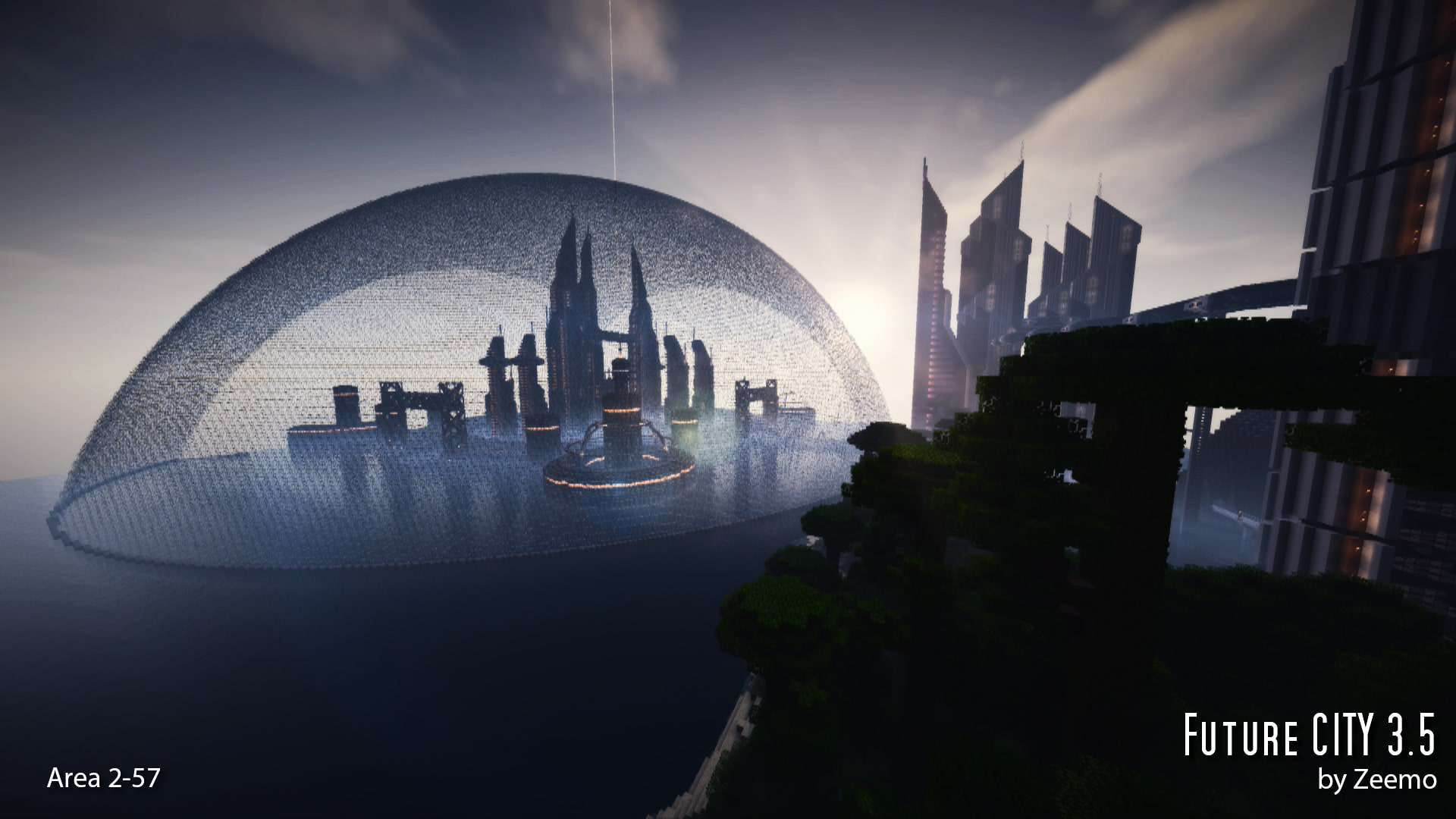 Future CITY 35 Minecraft Building Inc