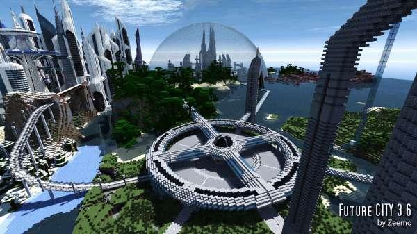 Future City V4.1 Minecraft Building