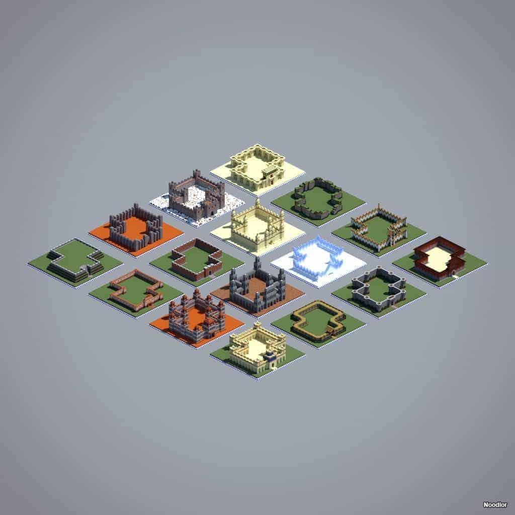 13 Minecraft Wall Ideas  World-o-Walls – Minecraft Building Inc