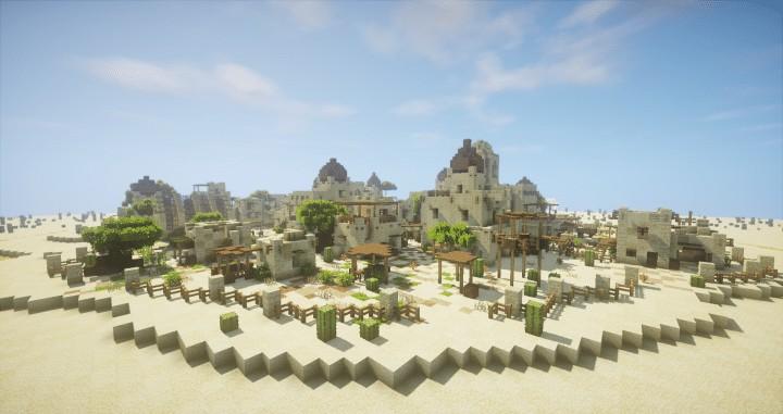 Arabian Village Minecraft Building Inc