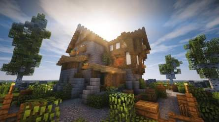 medieval cozy minecraft little timelapse pack texture building