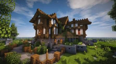 medieval cozy minecraft little houses timelapse cool designs pack survival minecraftbuildinginc buildings texture castle amazing lapse