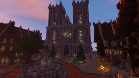 medieval minecraft epic building tower castle medieval