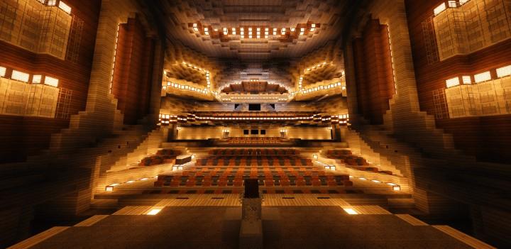 Harbin Grand Theater Minecraft Building Inc