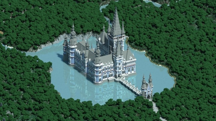 Lake District Minecraft Building Inc