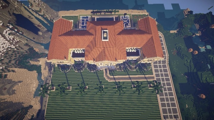 Luxury Beach House Minecraft Building Inc