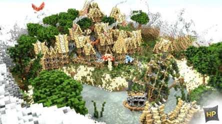 Medieval Village Minecraft Building Inc