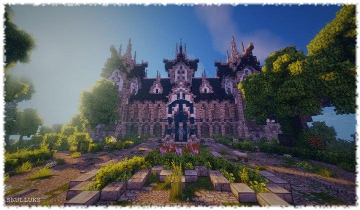 Minecraft Cinematic Fantasy Castle Tantal Minecraft