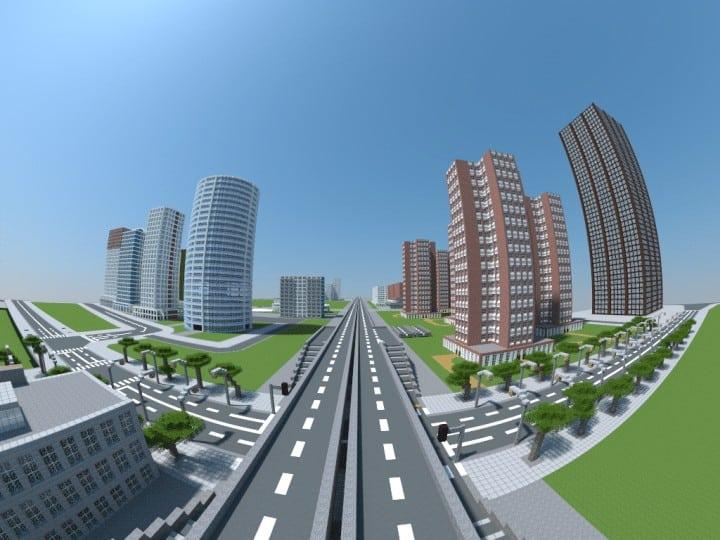 Spacia City Minecraft Building Inc