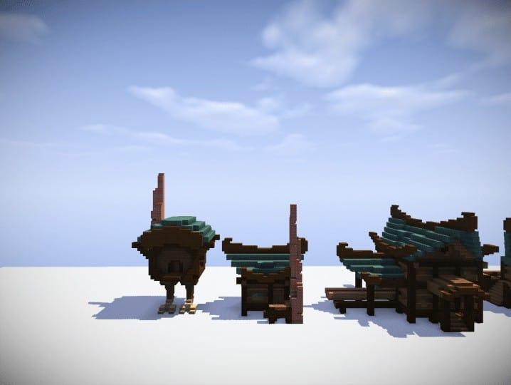 Swamp Houses Building Bundle  Minecraft Building Inc
