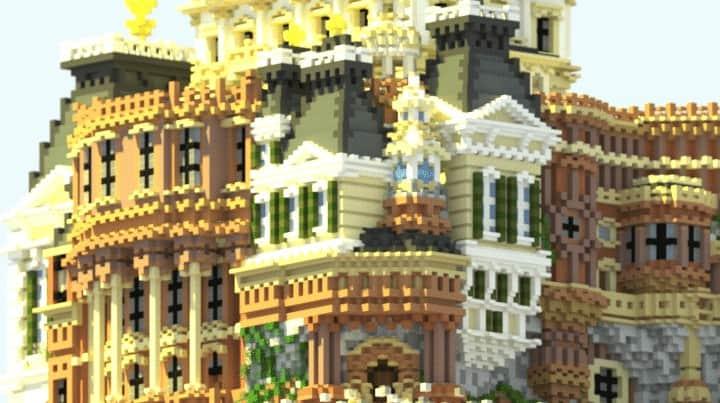 Whiterock Palace Minecraft Building Inc