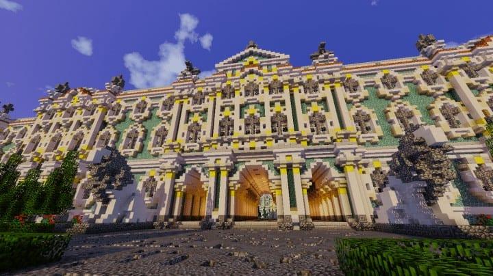 Winter Palace  Hermitage  Minecraft Building Inc