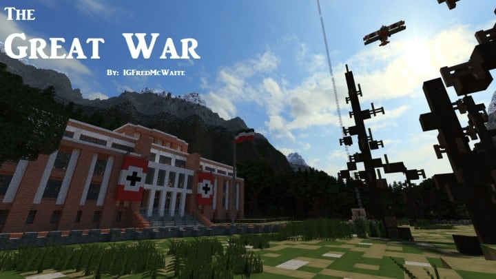 The Great War Battlefield 1 Inspired Map Minecraft Building Inc