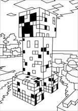 minecraft printables coloring pages # 63